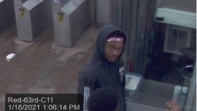 Police seeking man wanted for robbery on CTA Red Line platform near Englewood