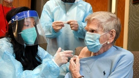 Coronavirus cases drop 66% at nursing homes in three weeks where most residents are vaccinated