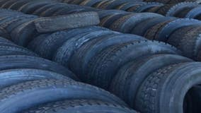 Harvey police recover 300 tires from alleged serial thief