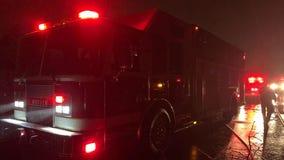 Firefighter injured in Woodlawn blaze