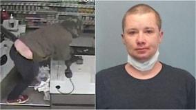 Hatchet-wielding robber who targeted suburban Walgreens turns himself into police: prosecutors