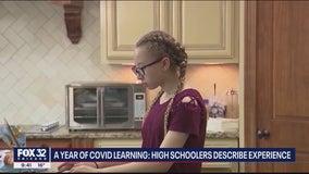 Illinois high school seniors talk life amid on-going pandemic