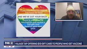 Chicago bar giving out gift cards to individuals who get COVID-19 vaccine