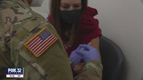 Illinois National Guard deployed to help organize, expedite massive COVID-19 vaccination effort