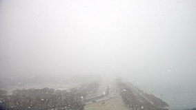 Snow expected through Sunday, with heavy bursts affecting visibility