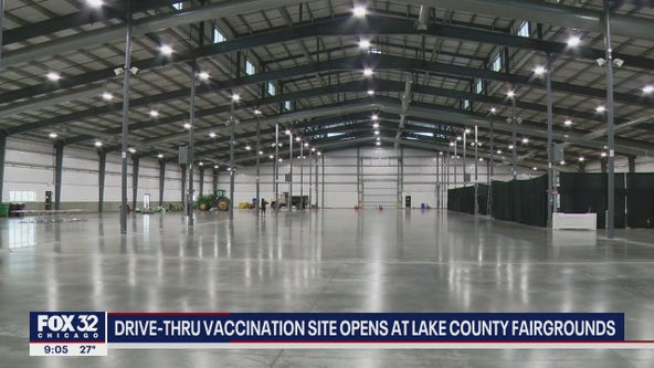 Drive-thru vaccination site opens Tuesday in Lake County