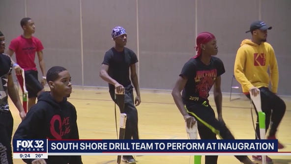 South Shore Drill Team to perform virtually at Biden's inauguration