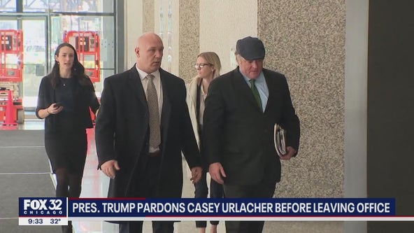 Brother of Chicago Bears Hall of Fame Linebacker Brian Urlacher pardoned by Trump