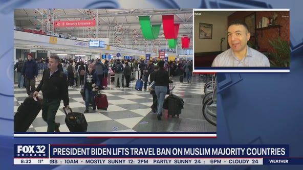 President Biden lifts travel ban on Muslim majority countries