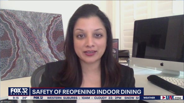 Evaluating the safety risks of returning to indoor dining