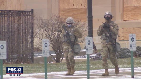 Police, soldiers flood Springfield leading up to Biden's inauguration