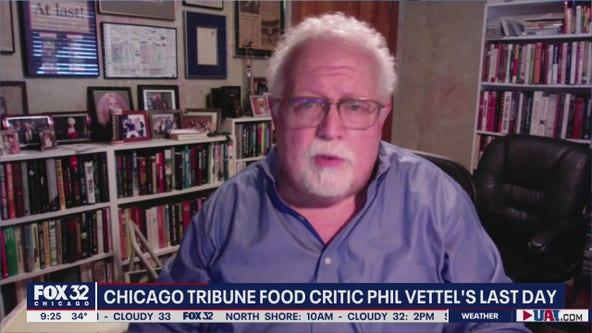Chicago Tribune food critic Phil Vettel reflects on his career documenting Chicago's restaurant scene
