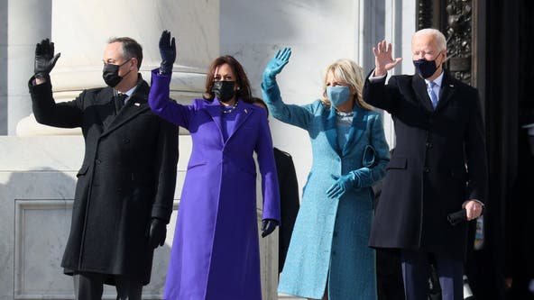 Inauguration Day 2021: Biden, Harris arrive as stage is set for historic swearing-in