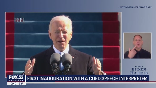 Biden's inauguration the first ever to feature Cued Speech interpreter