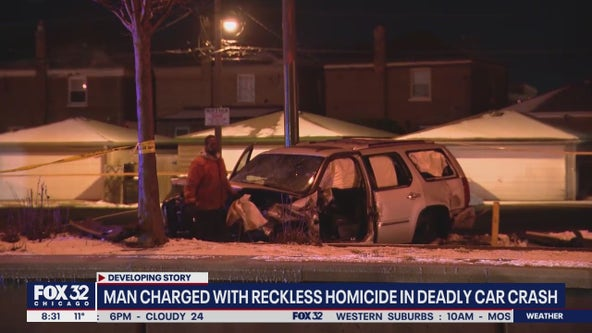 Man charged with reckless homicide in Garfield Ridge crash that killed 12-year-old girl