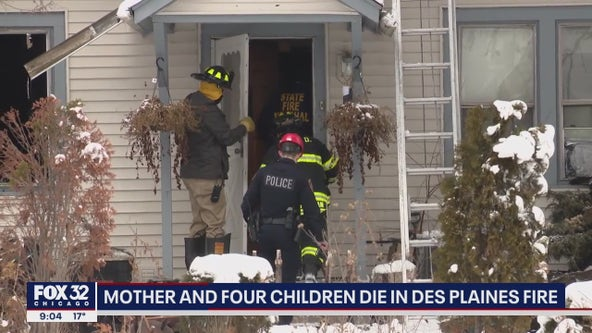 4 sisters, mom die in Des Plaines fire: 'a terrible day, a tragic day'