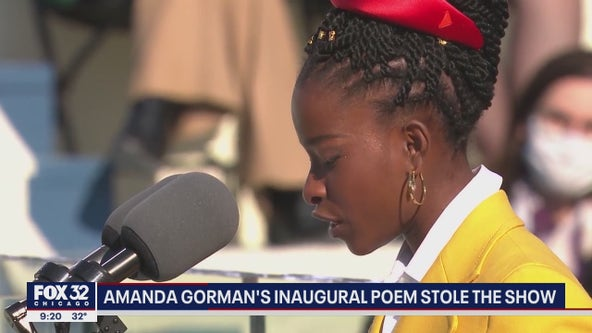Inaugural poet Amanda Gorman: 'Even as we grieved, we grew.'