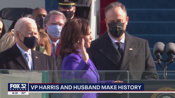 Vice President Kamala Harris and husband make history