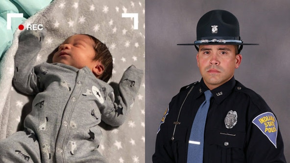 Baby delivered on side of road with trooper's help in NW Indiana