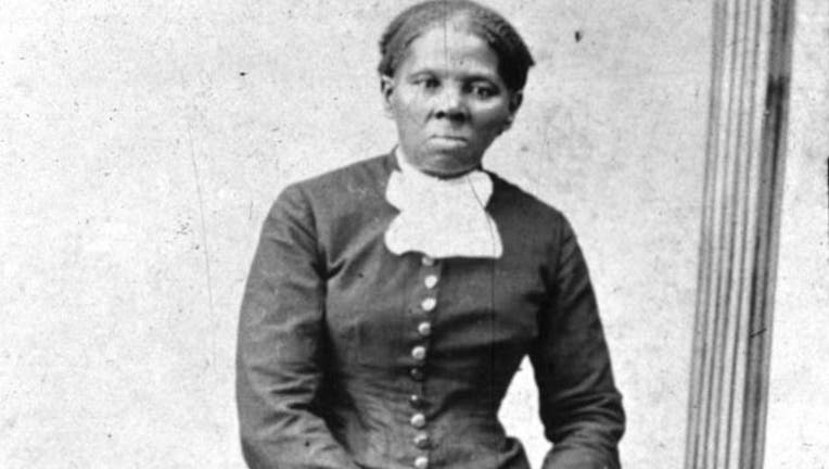 American abolitionist leader Harriet Tubman is pictured (1820 - 1913), who escaped slavery by marrying a free man and led many other slaves to safety using the abolitionist network known as the Underground Railroad. (Photo by MPI/Getty Images)