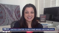 Dr. Shikha Jain weighs in on United Center becoming mass vaccination site