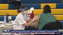 Chicago opts not to join state in expanding Phase 1B vaccine access