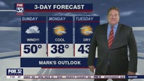 Sunday morning forecast for Chicagoland on Feb. 28