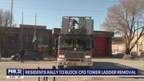 Residents rally to block CFD Tower Ladder removal
