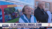 Roseanne Tellez takes the 'plunge' for Special Olympics Illinois