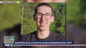Illinois parents blame 'Robinhood' for son's death, file lawsuit