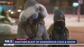 Sunday could be Chicago's coldest Valentine's Day ever, with wind chills dropping to -35