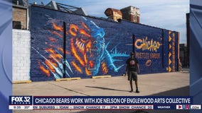 Joe 'Cujo Dah' Nelson on partnering with the Bears for massive West Town mural