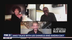 Lee Daniels and Andra Day on 'The United States vs. Billie Holiday'