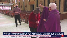 Chicago churches adapt Ash Wednesday rituals amid pandemic