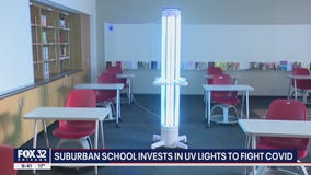 Ultraviolet technology being used to kill coronavirus germs in schools