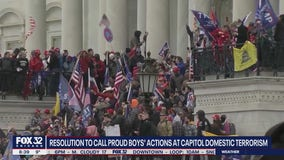 """Rep. Chuy Garcia introduces resolution to label Proud Boys' actions at the Capitol """"domestic terrorism"""""""
