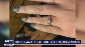 BBB issues warning after repair shop loses Aurora woman's engagement ring
