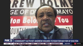 Andrew Holmes launches campaign to become mayor of Dolton