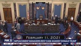 Impeachment trial will pivot to Trump's defense team
