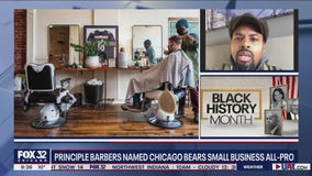 Principle Barbers named Chicago Bears Small Business All-Pro