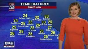10 p.m. forecast for Chicagoland on Feb. 25