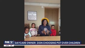 Daycare owner fighting to open up in Zion against marijuana farm