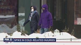 Warning from doctors amid Chicago cold snap: Frostbite can happen in minutes