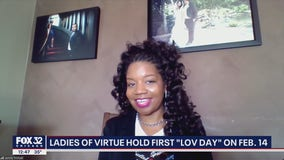 Ladies of Virtue hold 'LOV Day' program to celebrate Valentine's Day and Black History Month