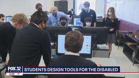 Aurora students use technology to improve the lives of those with disabilities