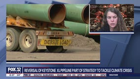 Reversal of Keystone XL Pipeline part of Biden's strategy to tackle climate crisis