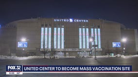 United Center to become mass vaccination site in March