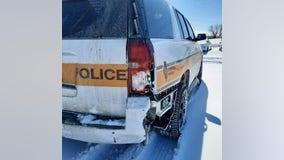 State trooper hurt in Joliet crash; 2nd trooper hit in a day