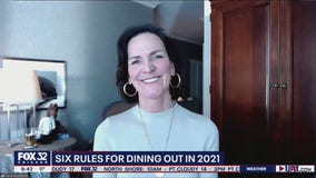 Six rules for dining out in 2021