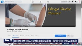 Chicagoan creates Facebook page to help others secure coronavirus vaccines